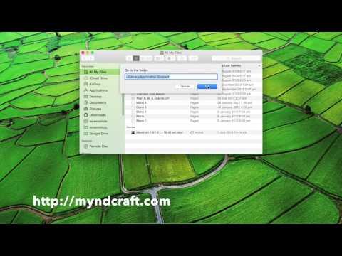 Minecraft Screenshots on 2015 Mac