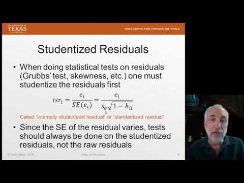 Lecture21 (Data2Decision) Leverage in Regression