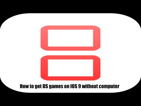 How to play DS games on IOS 9 without computer
