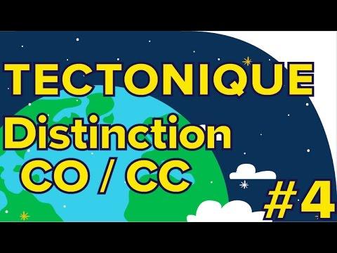 Distinction CO/CC-Tectonique  # 4- SVT Première S-Mathrix