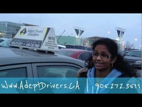 Road Test Success First Attempt Mississauga Ontario
