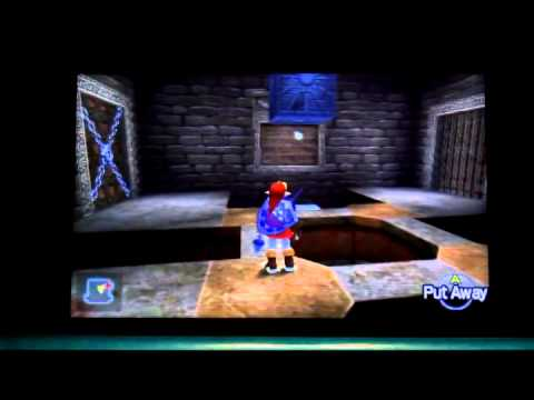 Solving the Time Block Room, 3rd floor of the Spirit Temple, Ocarina of Time (MasterQuest).