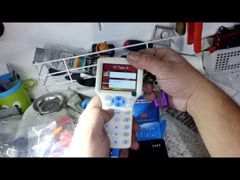 Swipe Card Copy Machine