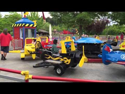 Legoland plane ride 1