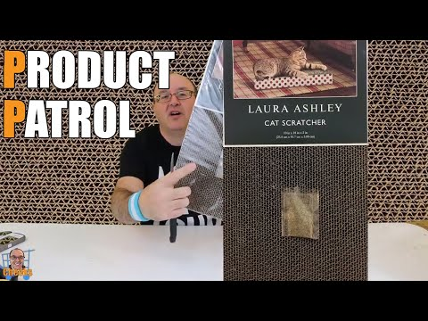 Corrugated Cat Scratcher Pad:Laura Ashley Cats brand Review