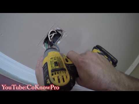 How to Replace and Ground an Old Electrical Outlet by CoKnowPro (YouTube)