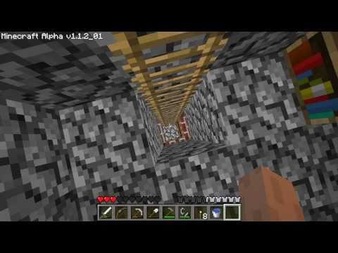 Minecraft How to Make a Bookshelf