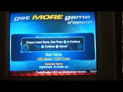CodeBreaker PS2 no disc.