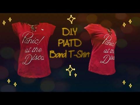 P!ATD T-Shirt, Easy DIY (No Screen Printing)