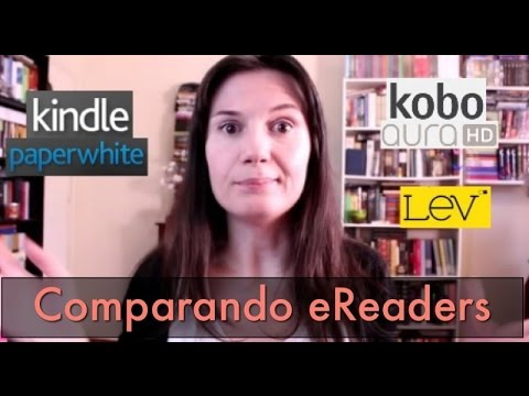 Comparando eReaders: Kindle + Kobo + LeV