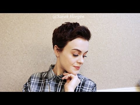 Messy Pixie Cut Tutorial | Pixie Styling | Sarahb.h
