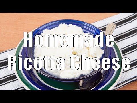 Easy Homemade Ricotta Cheese (Med Diet Episode 96)