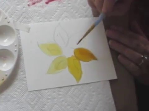 Beginning Alcohol Ink Painting With Brushes