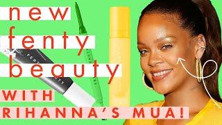 New FENTY BEAUTY Brow MVP Tutorial with Rihanna's Makeup Artist! | Try On | Cosmopolitan