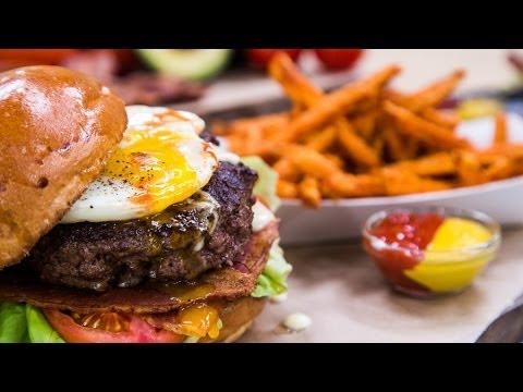 Home & Family - How to make Eggs Benedict Burger