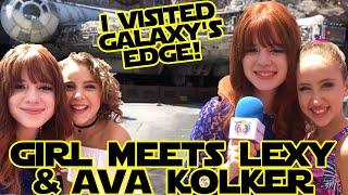 Ava Kolker | Girl Meets World + Lexy & Millennium Falcon @ Disneyland SWGE!