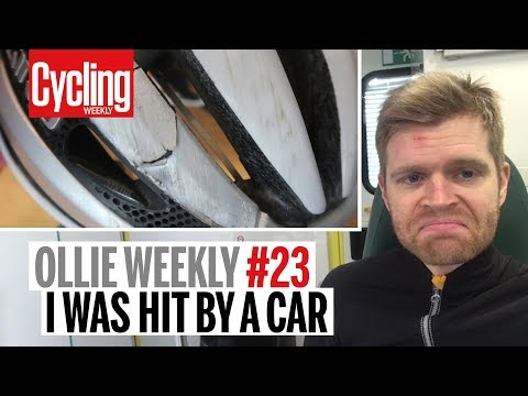 I was hit by a car | Ollie Weekly #23 | Cycling Weekly