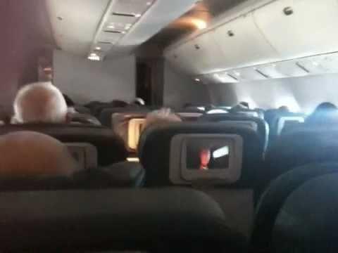 On board Delta flight from Manchester to Las Vegas via Atla