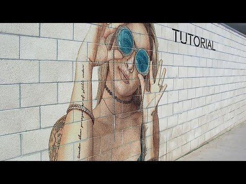 Graffiti Portrait Effect | Photoshop Tutorial | Photo Effects