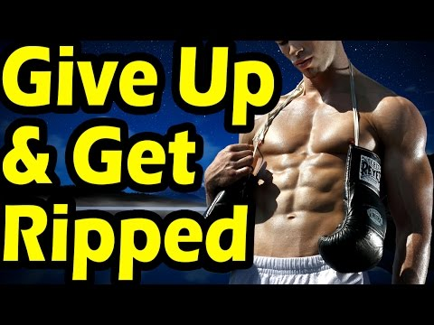 Everything You Need to Give Up to Get Ripped Lean and Cut Up | Top 3 Success Barriers to Burning Fat