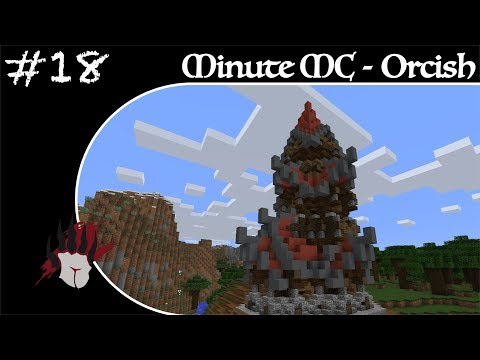 Minute Minecraft - Time Lapse - Orcish Camp - Ep.18