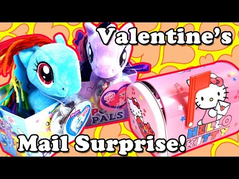 Hello Kitty Mailbox Surprise - My Little Pony Candy Box - Doc McStuffins Mashems TMNT Mario Zelda
