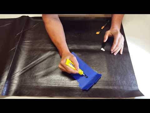 How to repair Vinyl & Leather with Plasti Dip VLP