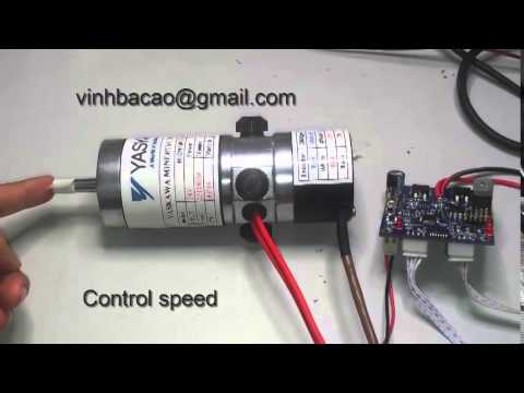 PID driver  servo motor control speed