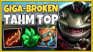 Download IF YOU THOUGHT TAHM KENCH WAS ALREADY BROKEN...(THIS IS LEGIT BUSTED) - League of Legends Video