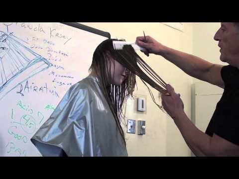 How to Do a Long layer haircut
