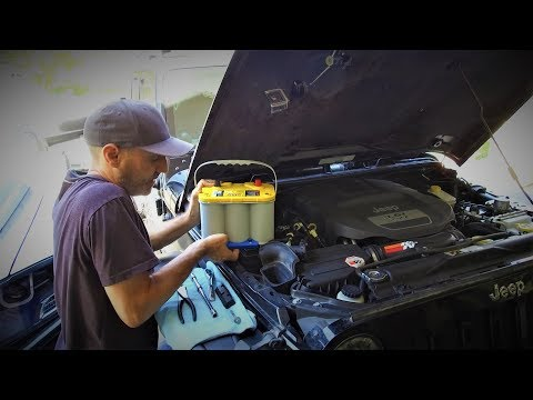 EASY Optima Yellow Top Battery Upgrade for Jeep Wrangler - Optima All The Things!