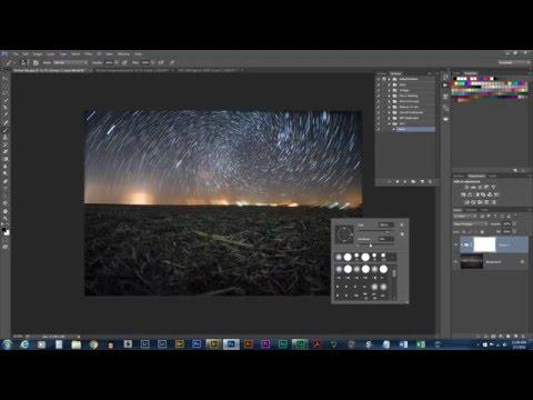 How To: Make Vortex Star Trails in Photoshop CC