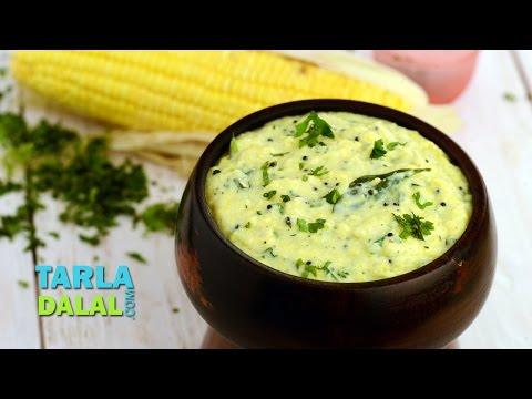 Corn Korma by Tarla Dalal