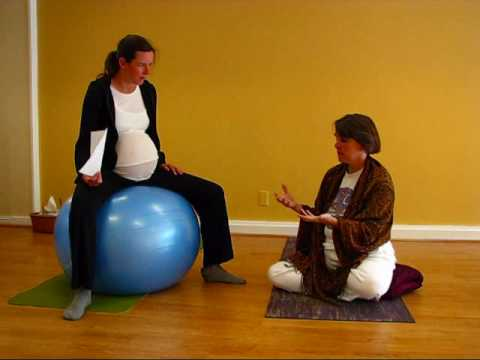 How to use Yoga Ball positions for pregnancy and labor Q and A