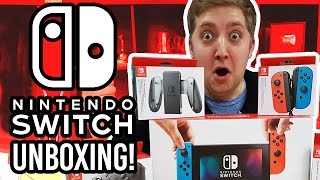 Nintendo Switch Unboxing + Setup!