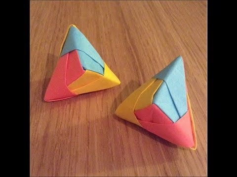 Cool Origami Post-It Model