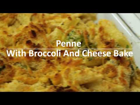Penne With Broccoli And Cheese Bake
