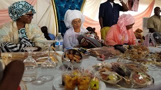 Déjeuner royal de Sokhna aida offert par ses talibés a ngabou