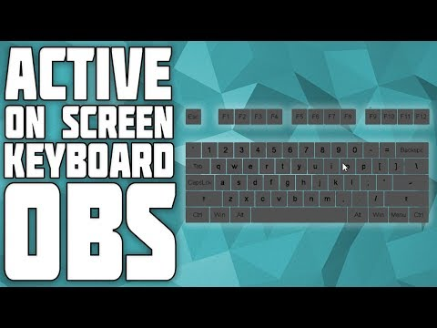 How to Show an On-Screen Keyboard in OBS! Nohboard in OBS tutorial! Nohboard setup for OBS!