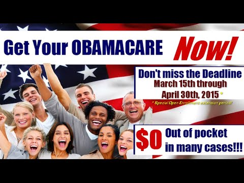 ObamaCare Health Insurance Special Enrollment Enroll Now