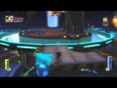 epic mickey walkthrough - hero path - part 15 space voyage