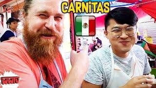 Jamás Preparamos CARNITAS ASÍ en MÉXICO (ft. CoreanoVlogs) ☆ WeroWeroTV