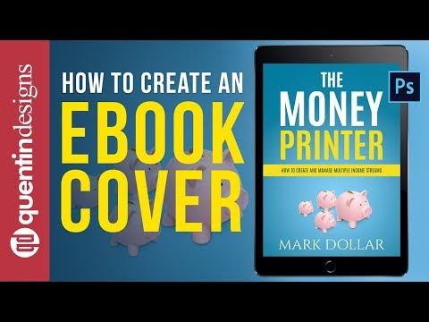 How to create a non fiction ebook cover in Photoshop