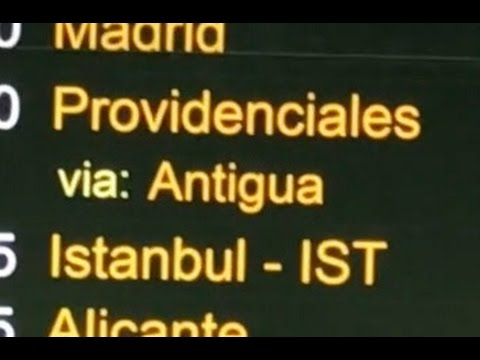 London to Antigua In 17 Seconds