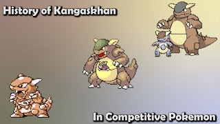 How GOOD was Kangaskhan ACTUALLY? - History of Kangaskhan in Competitive Pokemon (Gens 1-7)