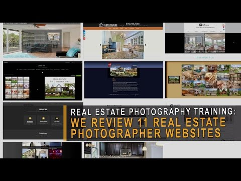 Real estate photographer website review