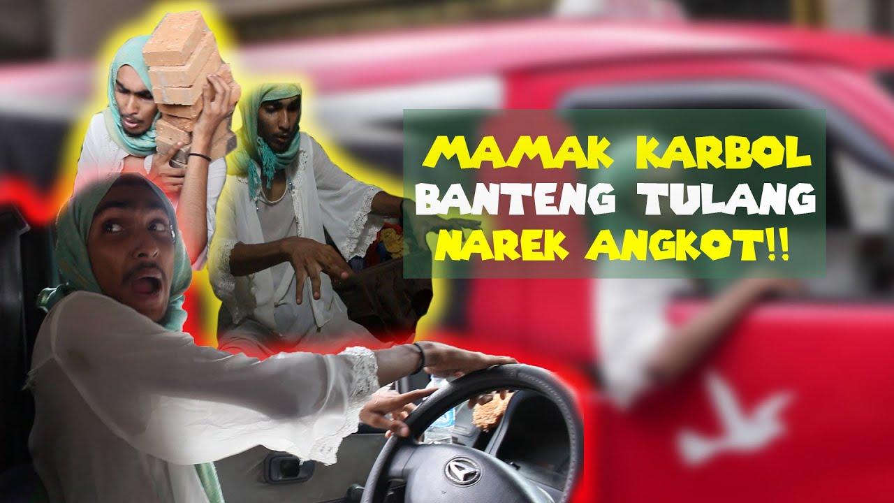 MAMAK KARBOL BANTENG TULANG NAREK ANGKOT!! Mobunuh diri lompat dari lante 4 weee!! #perempunbarbar