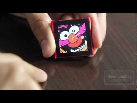 2011 iPod Nano 6th Gen Unboxing and Firmware 1.2 Update - New Clock Faces!