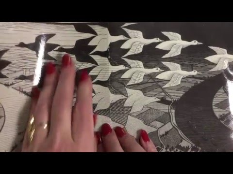 Kids Can Draw: M. C. Escher Tessellations