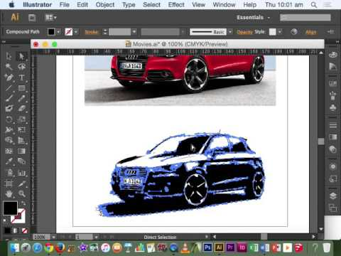 30. Image trace - Adobe Illustrator CS6